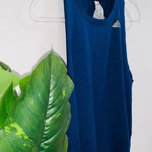 adidas Tops - 🦋 4/$30 Adidas Navy Blue Tank Top Medium Fit